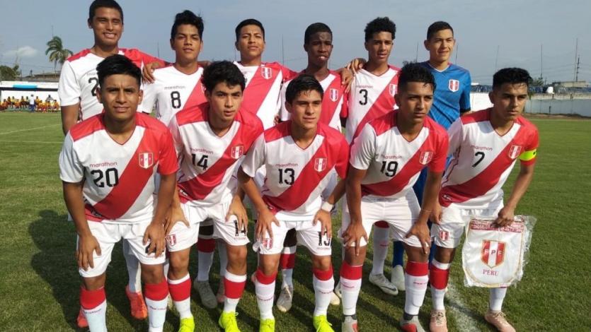 Selección Peruana Sub 17 se medirá con Ecuador esta tarde
