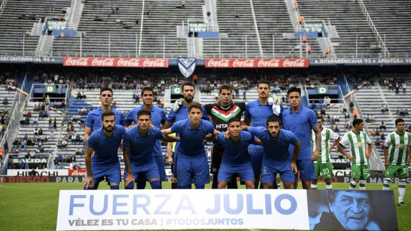 Luis Abram convocado en Vélez para enfrentar a San Martin de San Juan