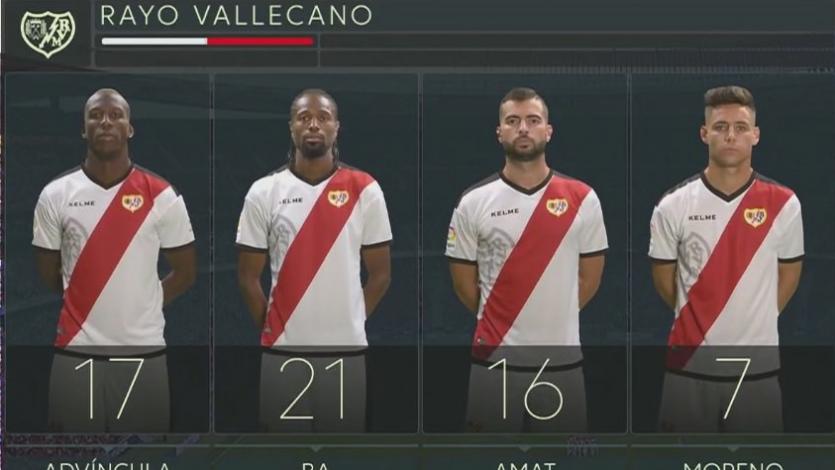 Luis Advíncula juega su primer partido como titular en Rayo Vallecano