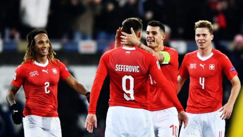 Suiza remonta y golea a Bélgica para meterse en el Final Four
