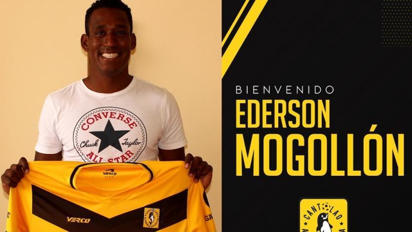 OFICIAL: Ederson Mogollón es el nuevo refuerzo de Cantolao