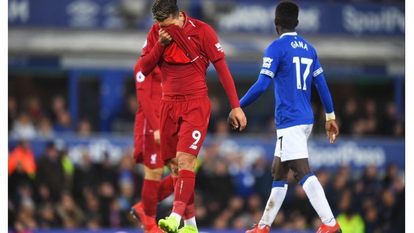 Liverpool igualó ante el Everton y perdió la punta de la Premier League