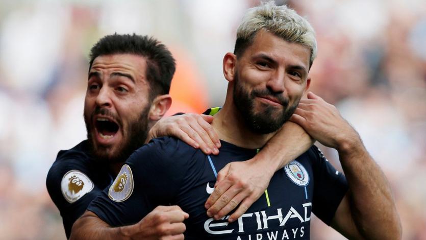 Manchester City triunfa ante Burnley y quedó a un paso de ganar la Premier League