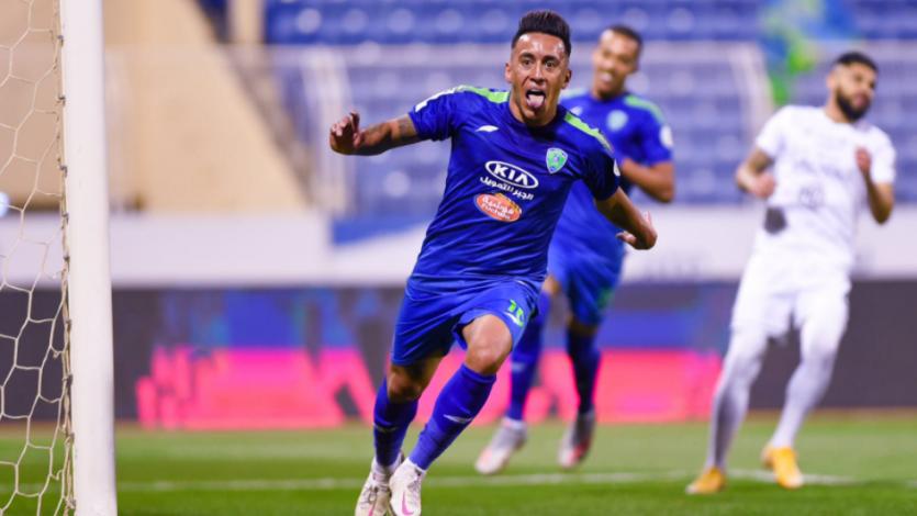 Christian Cueva marcó un doblete en el segundo triunfo consecutivo del Al-Fateh  (VIDEO)