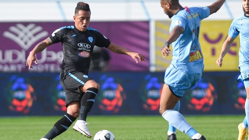 Christian Cueva: Al-Fateh triunfó 2-0 y salió de la zona de descenso en Arabia Saudita