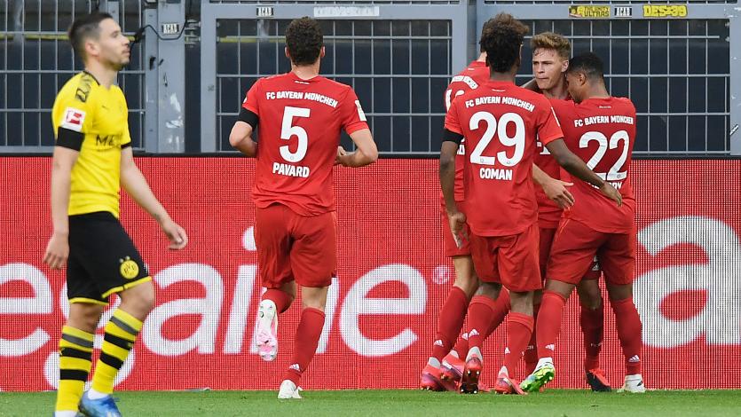Bundesliga: Bayern Múnich se impuso ante el Borussia Dortmund y se acerca al título
