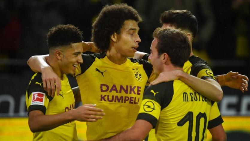 Borussia Dortmund supera al Mönchengladbach y sigue firme en la cima de la Bundesliga
