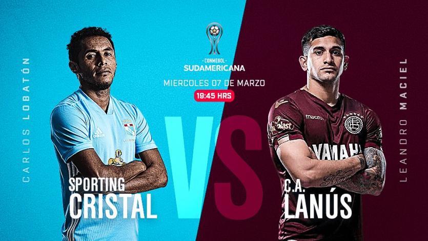 Copa Sudamericana: Sporting Cristal recibe a Lanús en el Nacional