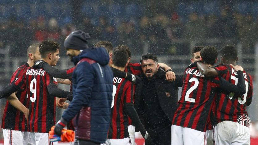 Serie A: Genaro Gatusso gana su primer partido con el Milan