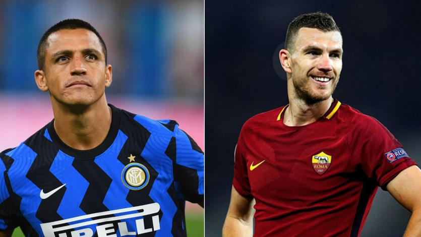 Alexis Sánchez por Edin Dzeko: el posible intercambio entre Inter y Roma