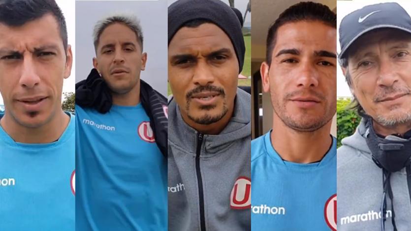 Universitario: jugadores y Ángel Comizzo le enviaron un mensaje de ánimo a hincha crema