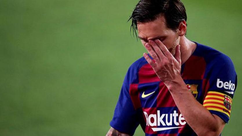 Lionel Messi está destrozado tras su salida del Barcelona (VIDEO)