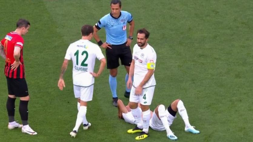 Paolo Hurtado sufrió lesión en el reinicio de la liga turca (VIDEO)