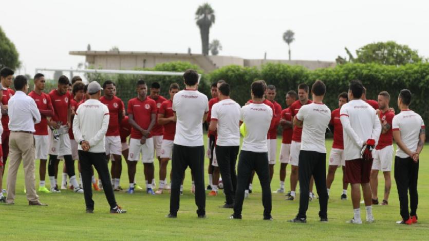 Universitario de Deportes comenzó su pretemporada con 29 jugadores