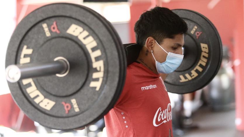Selección Peruana: Jefferson Farfán, Raúl Ruidíaz y Marcos López entrenaron en la Videna