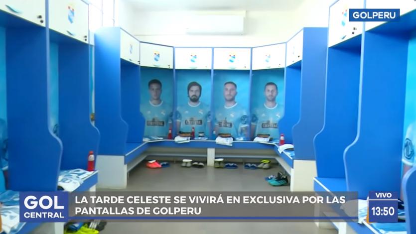 Sporting Cristal: conoce el hermoso camerino de los 'Celestes' que por primera vez abrió sus puertas (VIDEO)