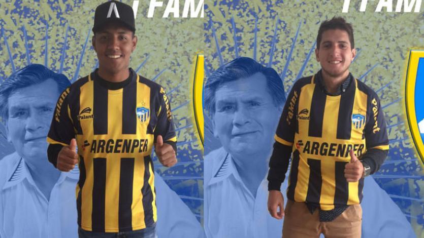 Farihd Jasaui y Christian Adrianzén renovaron con Sport Rosario
