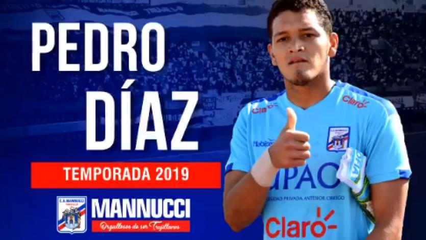 Por un arco seguro: Pedro Díaz renovó con Carlos A. Mannucci