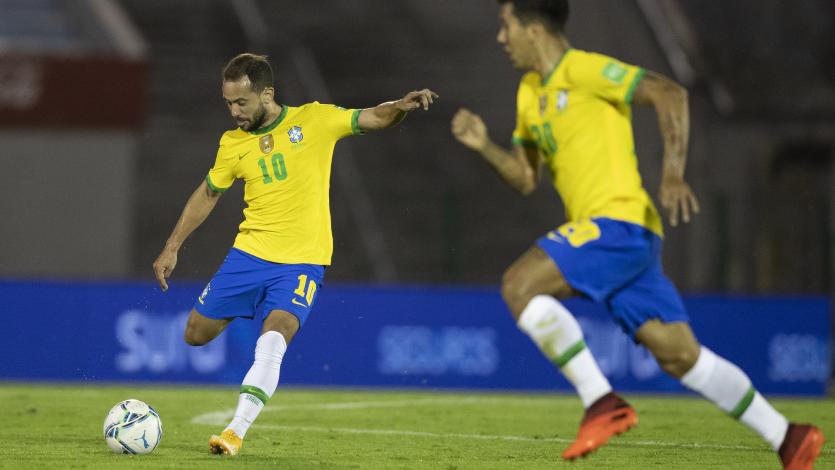 Clasificatorias Sudamericanas: Brasil superó 2-0 a Uruguay por la fecha 4
