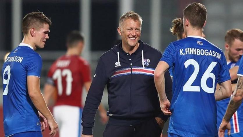 Islandia golea en su segundo amistoso y se alista para enfrentar a Perú