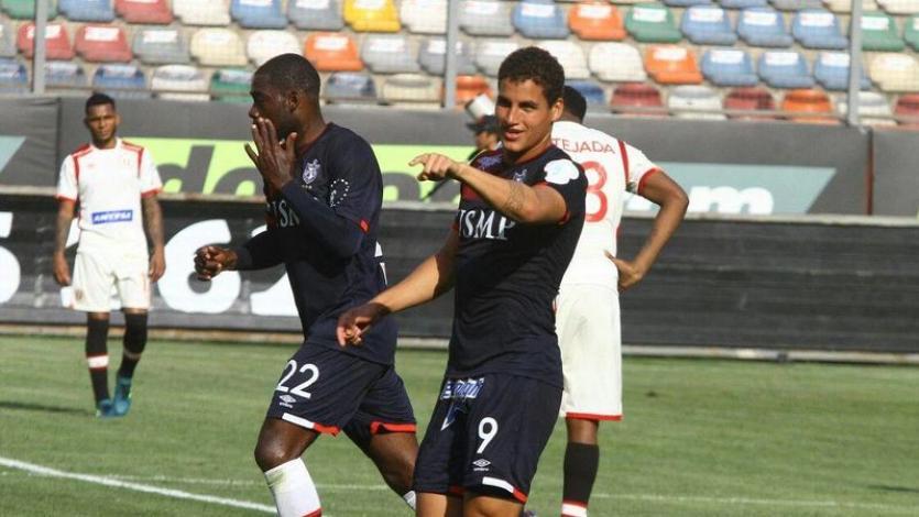 Alexander Succar jugó amistoso con el Sion