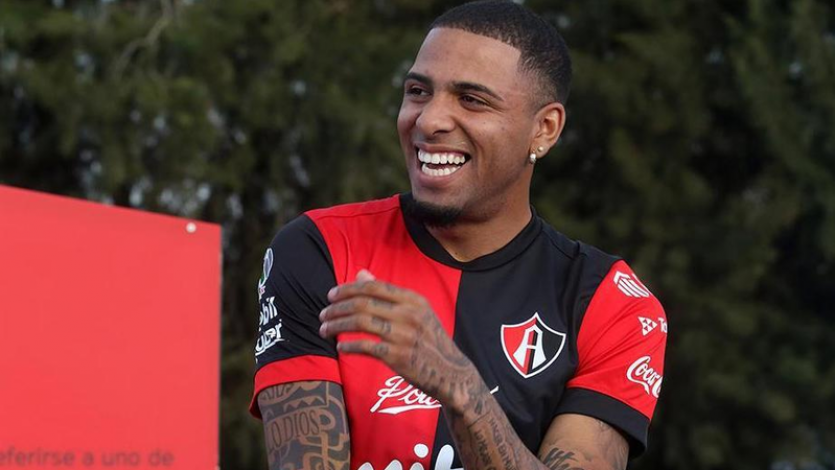 Alexi Gómez fue convocado por Atlas para visitar a Pumas