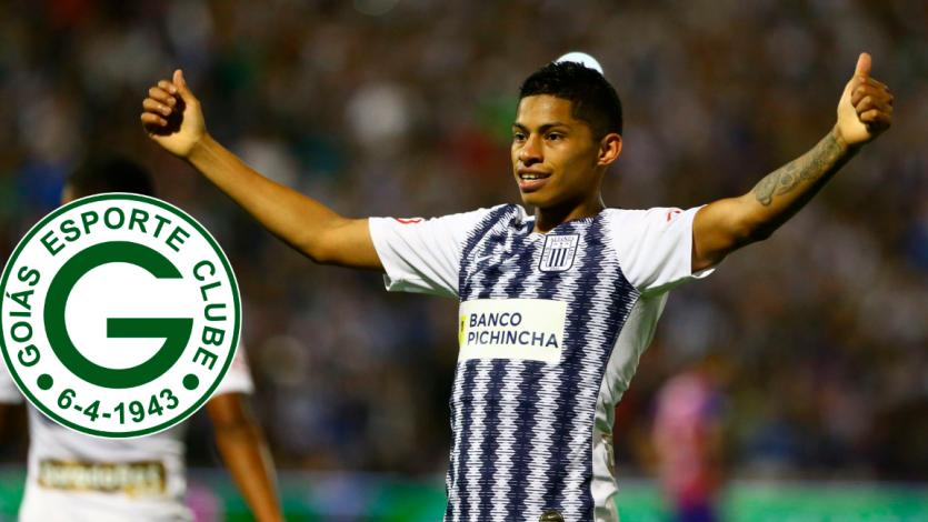 Kevin Quevedo: vicepresidente del Goiás confirmó fichaje del delantero peruano