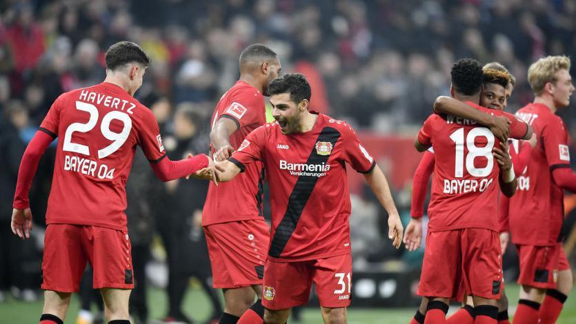 Bayern Leverkusen se afirma en la Bundesliga