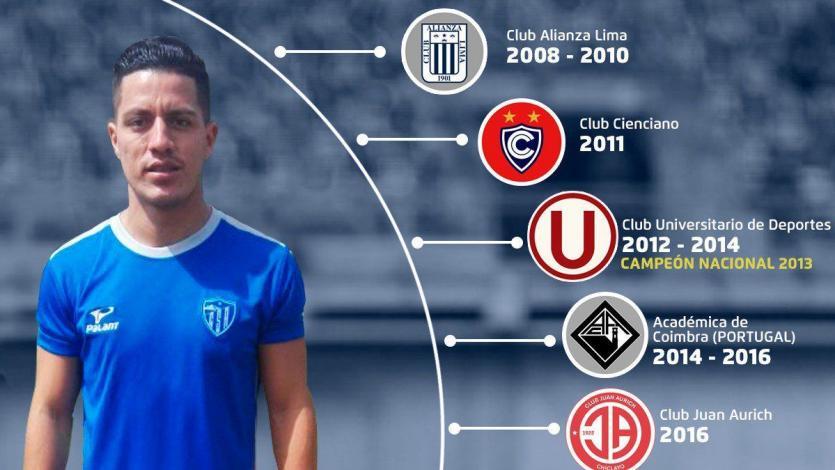Carlos Olascuaga es nuevo jugador de Sport Rosario