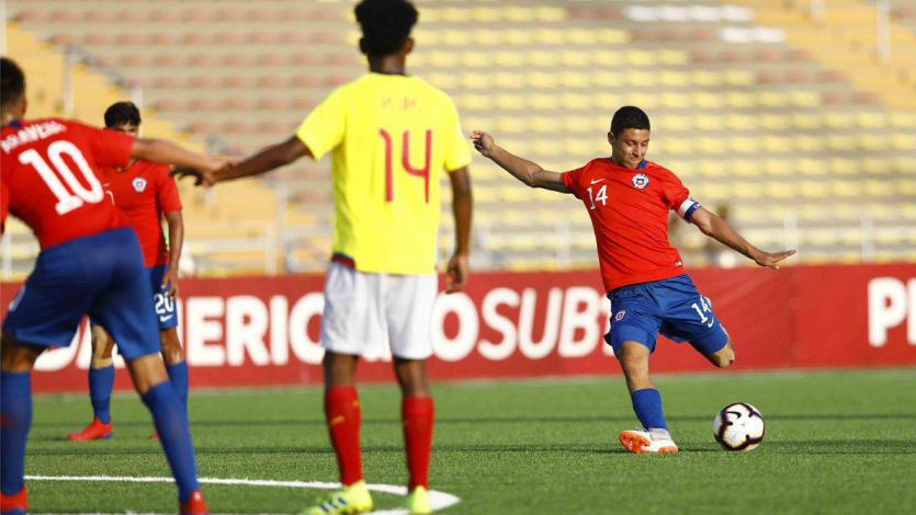 Sudamericano Sub 17: Chile supera a Ecuador en el apertura del Hexagonal