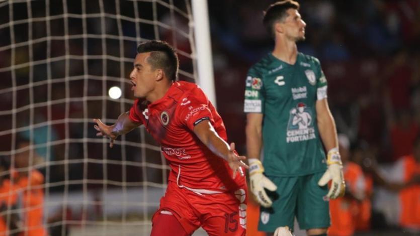 Iván Santillán marcó su primer gol con el Veracruz