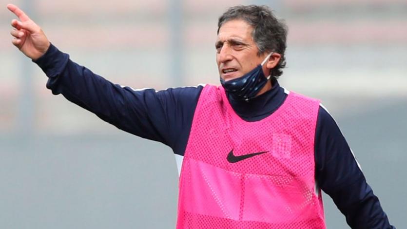 """Mario Salas: """"En equipos como Alianza Lima tienes que aprender a vivir con la presión"""""""