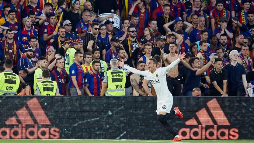 Copa del Rey: Valencia venció 2-1 al Barcelona y se coronó campeón