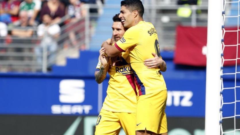 Barcelona goleó al Eibar al ritmo de Lionel Messi