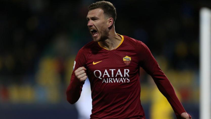 Roma supera al Frosinone como visitante y le mete presión al Milan e Inter