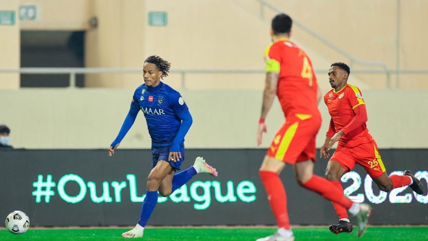 André Carrillo anotó y asistió en un nuevo triunfo del Al Hilal (VIDEO)