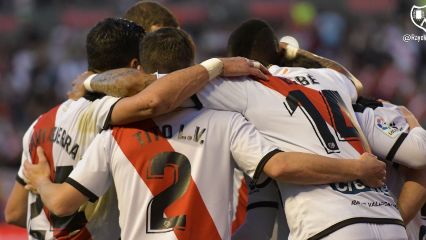 Rayo Vallecano superó 1-0 al Real Madrid y se aferra a primera