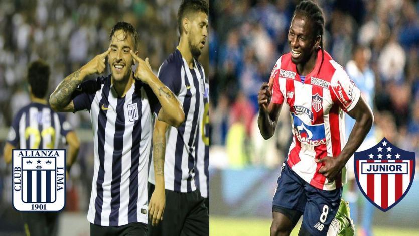 Alianza Lima y Junior de Barranquilla en duelo de descarte