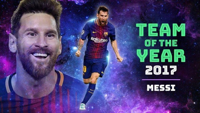 Messi y Cristiano lideran al equipo ideal del 2017 en Europa