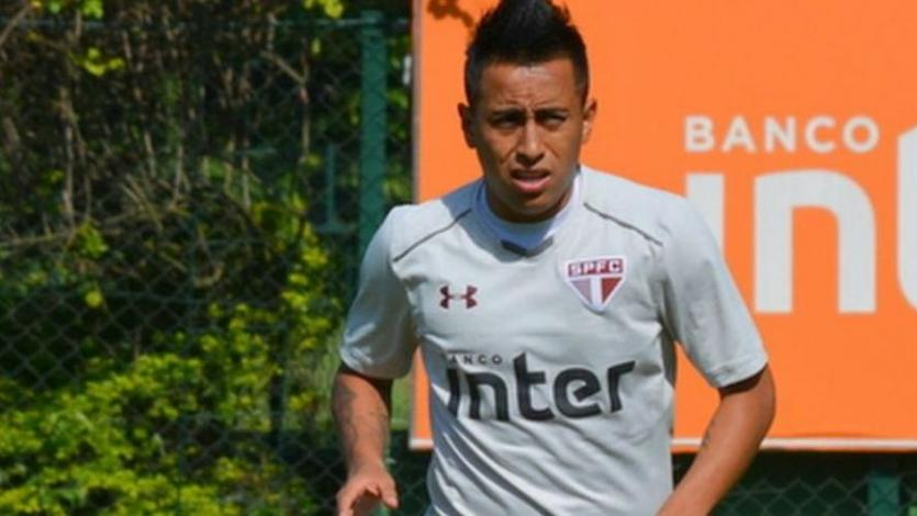 Christian Cueva: Sao Paulo multó al futbolista peruano