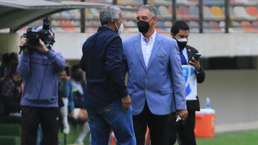 """Mario Viera: """"Fue un partido muy disputado, el empate es lo más justo"""" (VIDEO)"""