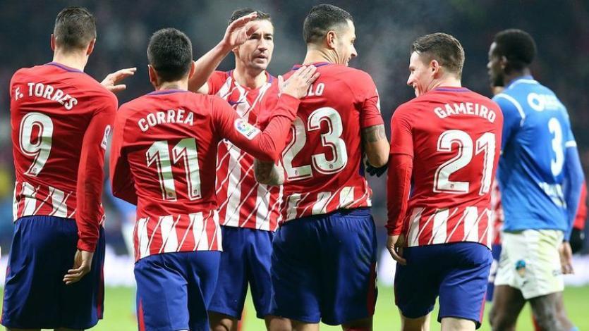 Atlético de Madrid a los cuartos de final de la Copa del Rey