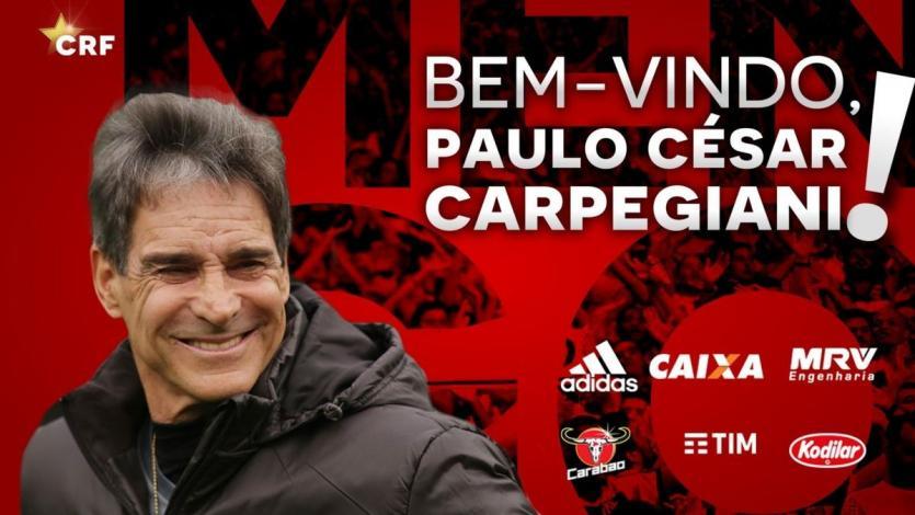 Paulo César Carpegiani es nuevo DT del Flamengo