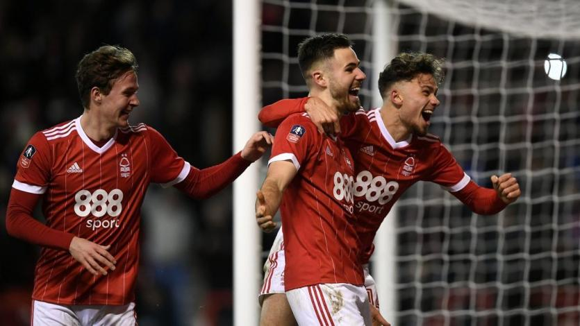 Nottingham Forest elimina al Arsenal de la FA Cup (4-2)