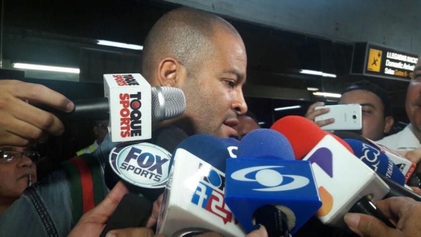 Alberto Rodríguez llegó a Colombia para firmar por Junior