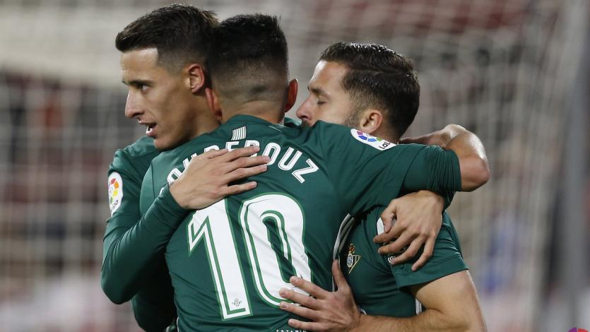 España: Betis vence al Sevilla en el derby andaluz
