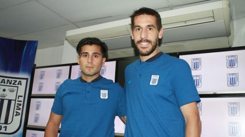 Alianza Lima presentó a Tomas Costa y Maximiliano Lemos