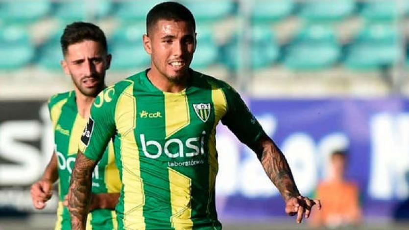 Sergio Peña fue titular en la victoria del Tondela
