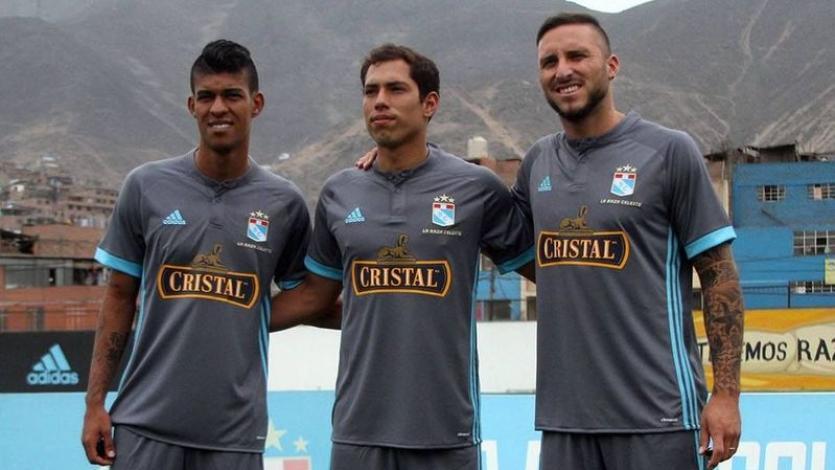 Sporting Cristal: Yulián Mejía, Emanuel Herrera y Patricio Álvarez son presentados
