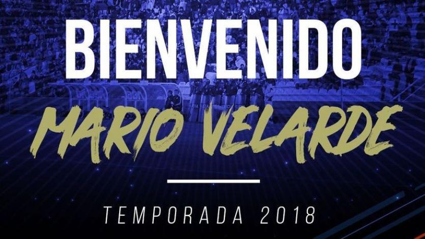 Alianza Lima: Mario Velarde es el tercer refuerzo para el 2018
